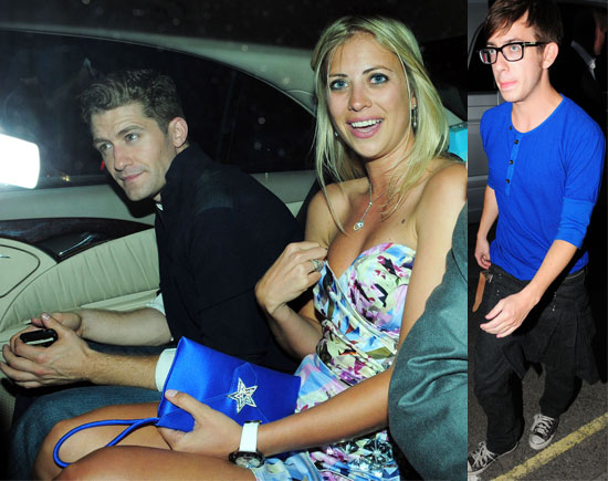 Pictures of Glee Cast Matthew Morrison Leaving Boujis Nightclub With Richard Branson's Daughter Holly