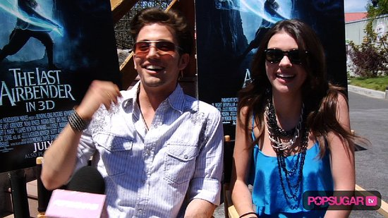 Video of Jackson Rathbone Singing and Interview With Nicola Peltz For The Last Airbender