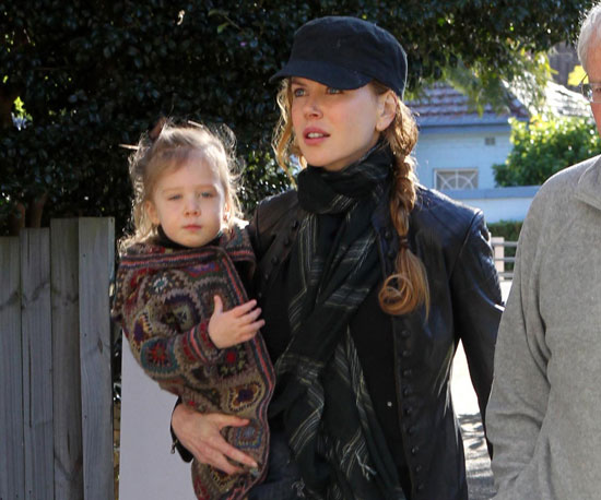 Slide Picture of Nicole Kidman and Sunday Rose Urban in Sydney
