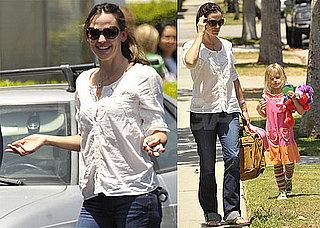 Pictures of Jennifer Garner and Violet Affleck