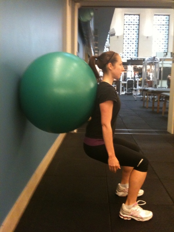 Body Weight Wall Squat