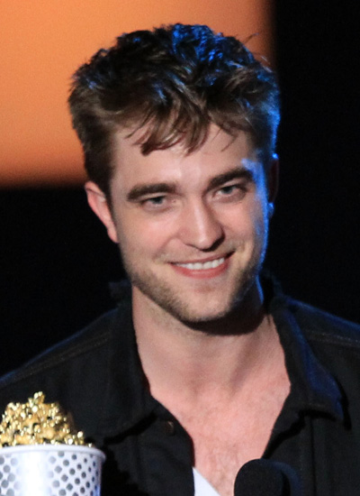 Robert Pattinson in June 2010: MTV Movie Awards