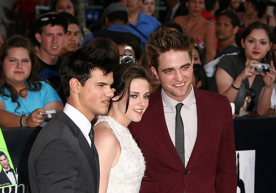 Rob at the Eclipse premiere
