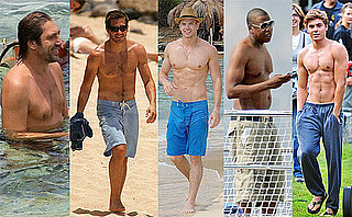 Which Shirtless Star Would You Take to a Fourth of July Beach Party?
