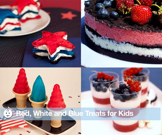 Red, White, and Blue Treats For Kids