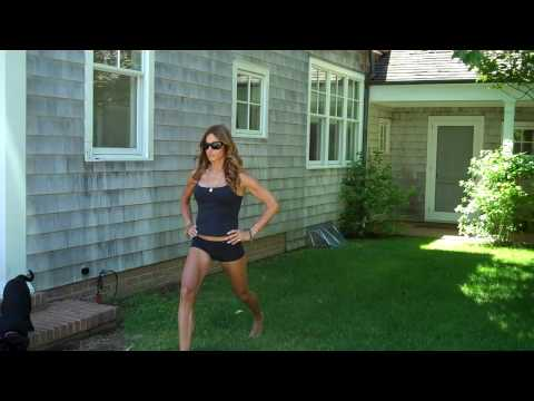 Kelly Bensimon Workout Video