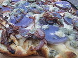 Grilled Blue Pizza Recipe