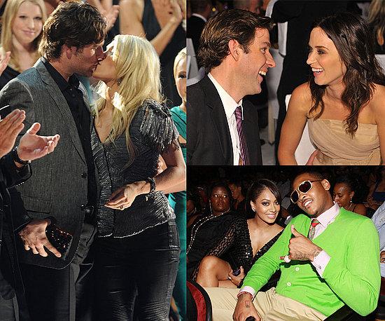 Carrie Underwood, John Krasinski, Emily Blunt, Lala Vasquez, Carmelo Anthony Wedding Details
