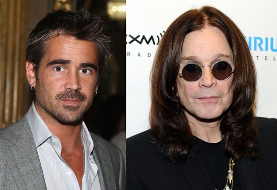 Colin Farrell Rumored to Play Ozzy Osbourne in Biopic Movie