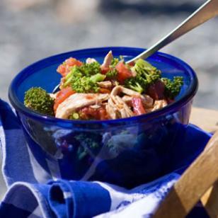 Chicken, Tomato, and Broccoli Salad Recipe