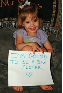 Announcing Baby on Facebook