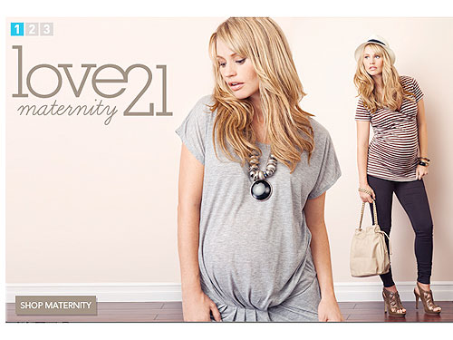 Forever 21 Launches Maternity Clothes