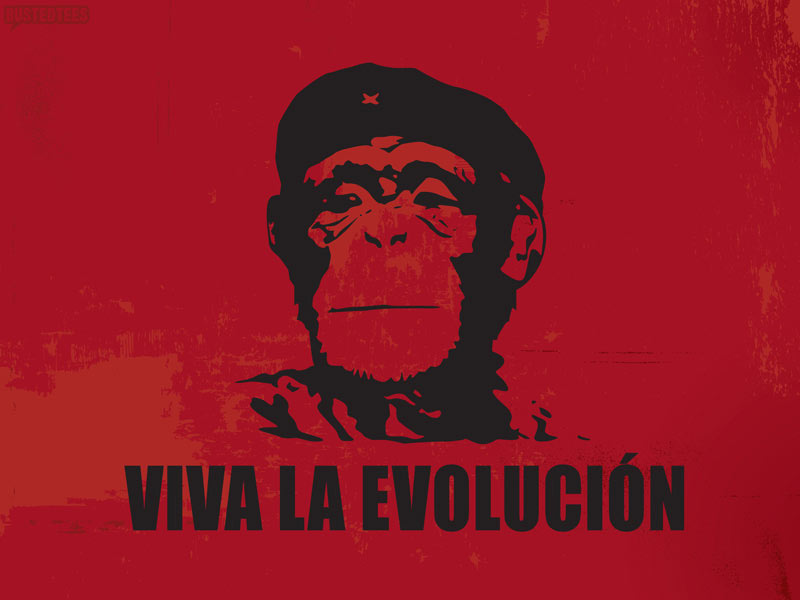 Viva la Evolucion Wallpaper Image