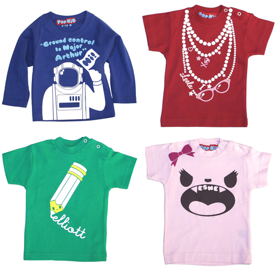 Personalized Shirts for Kids