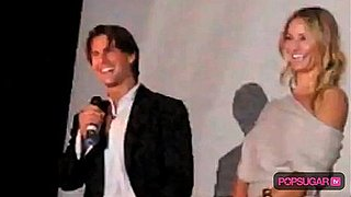 Tom Cruise and Cameron Diaz Speak Spanish While in Mexico City For Knight and Day