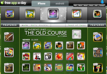 Free App a Day for Android and iPad 2010-07-10 11:00:29