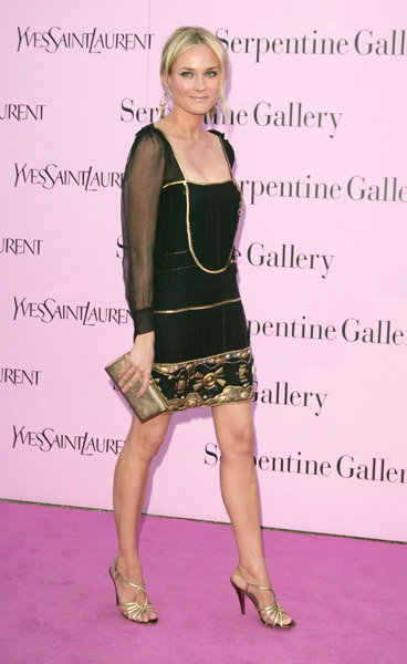 Diane loves a great LBD, and this iteration, rocked in 2006, was anything but basic.