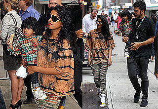 Pictures of M.I.A. With Ben Bronfman in NYC With Baby Ikyhd