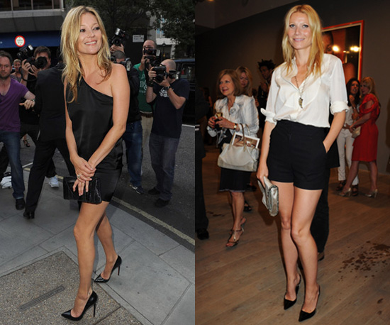 Gwyneth Paltrow et Kate Moss relancent la mode des talons pointus