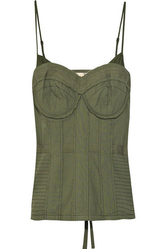 Elizabeth and James | Cotton military-style corset | 365