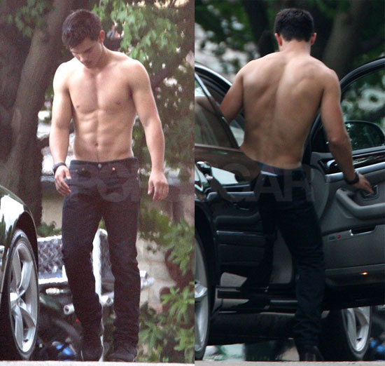 Pictures of Taylor Lautner Shirtless