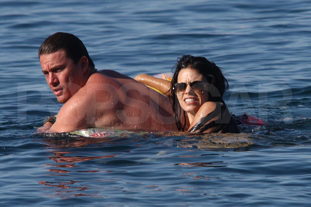 Pictures of Channing and Jenna in Italy