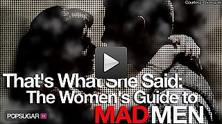 Sugar Shout Out: The Women's Guide to Mad Men