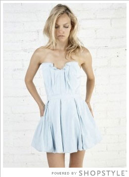 Chambray Minidress