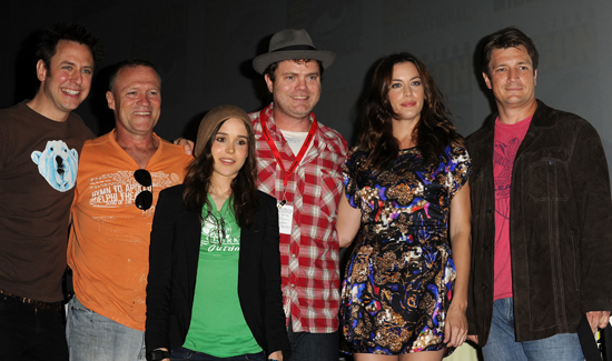 Comic-Con Panel For Super With Rainn Wilson, Ellen Page, Liv Tyler, and Nathan Fillion