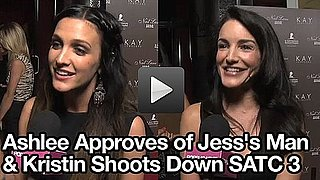 Ashlee Simpson Comments on Jessica Simpson's New Boyfriend and Kristin Davis Interview About Sex and the City 3