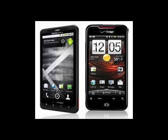 Droid X and Droid Incredible Set For Updates