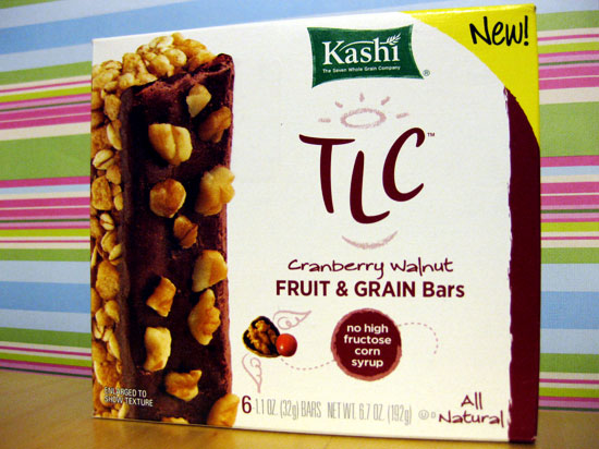 Review of Kashi Cranberry Walnut Fruit & Grain Bars