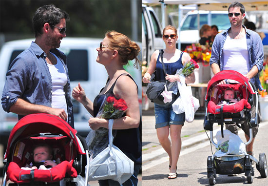 Pictures of Amy Adams and Darren Le Gallo With Baby Aviana 2010-07-26 11:30:00