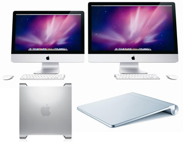 New iMac and Trackpad Details