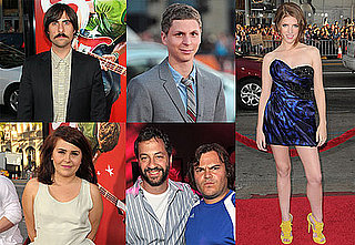 Jason Schwartzman, Abigail Breslin, Michael Cera, Adam Scott and Anna Kendrick at Scott Pilgrim Premiere