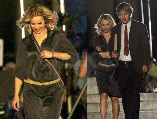 Pictures of Rachel McAdams and Owen Wilson Shooting Midnight in Paris 2010-07-30 16:30:00