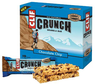 Calories in Clif Crunch Compared With Calories in Nature Valley Granola Bars