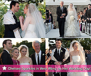 Pictures of Bill, Hillary and Chelsea Clinton at Her Wedding to Marc Mezvinsky