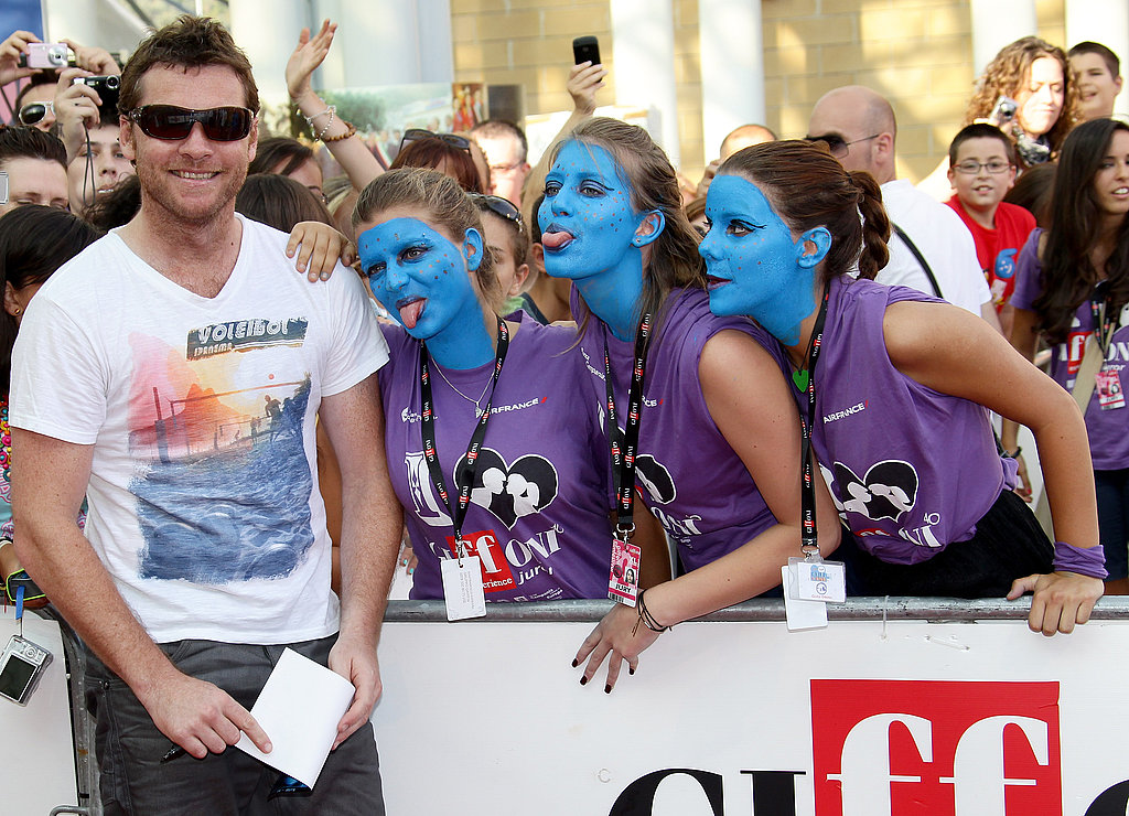 Sam Worthington at the Giffoni Experience