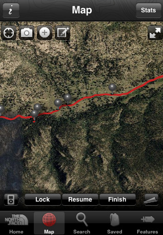 Hiking Trail App From The North Face