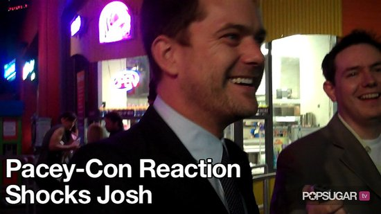 Video of Joshua Jackson Talking About Pacey-Con