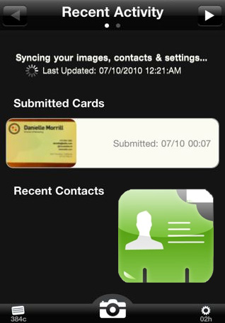 CardMunch Digital Business Card Service