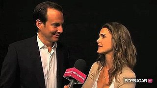 Will Arnett and Keri Russell Joke About Running Wilde Pilot