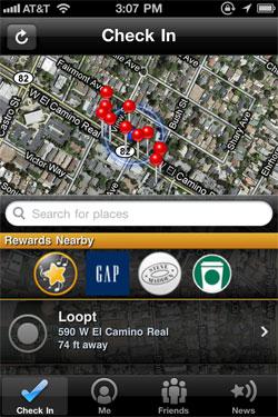 Loopt Star Discounts and Rewards
