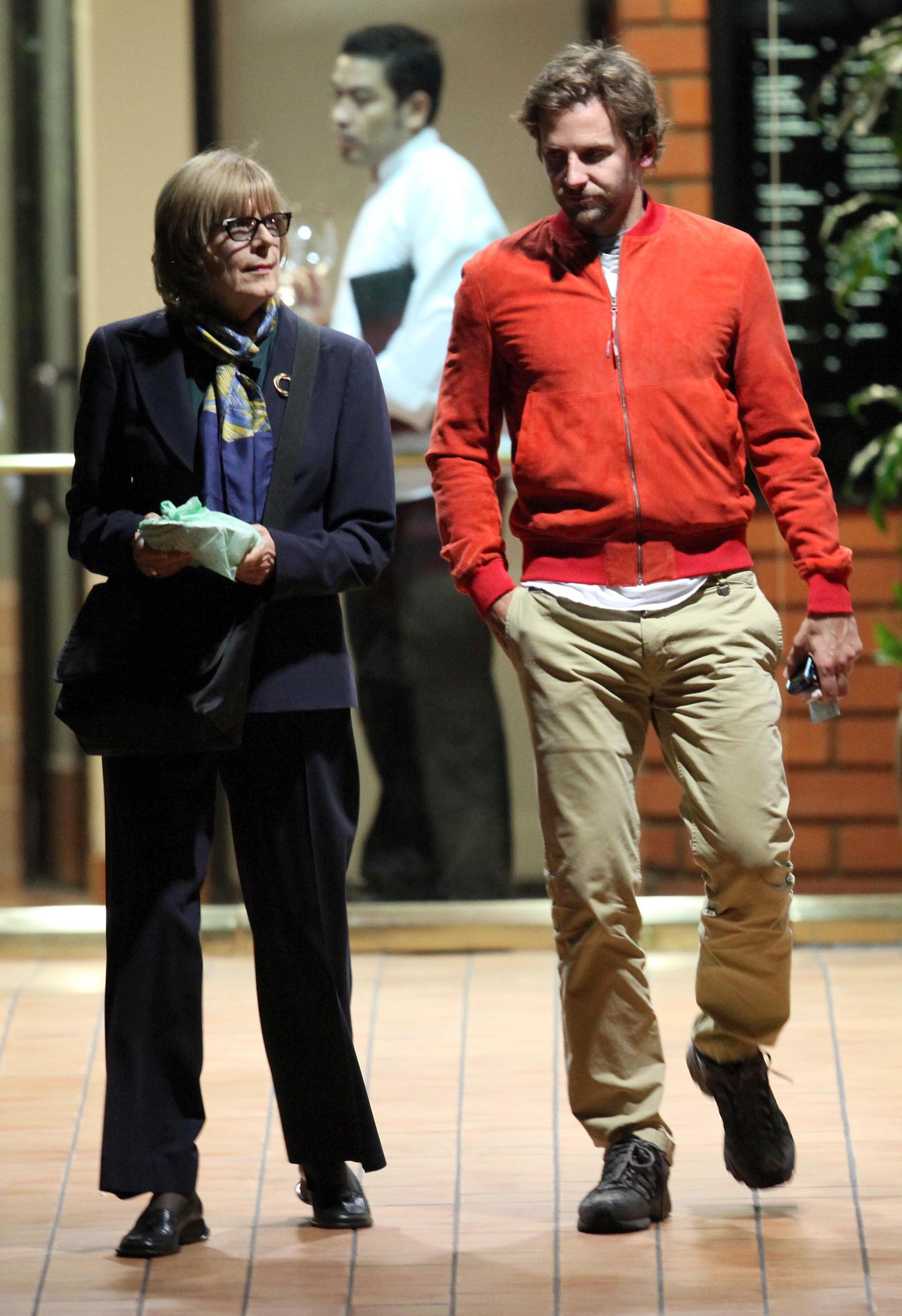 Photo of Bradley Cooper & his  Mother  Gloria Campano Cooper