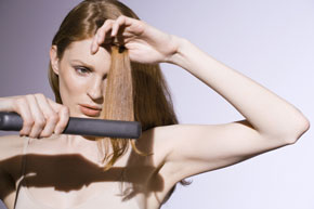 How to Use a Flat Iron as an Iron
