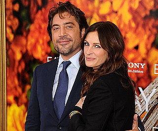 Slide Picture of Javier Bardem and Julia Roberts at Eat Pray Love Premiere