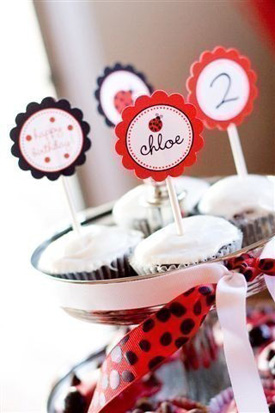 Cupcake Toppers For Kids Birthday Parties