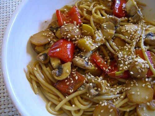 Quick Szechuan Stir-fry