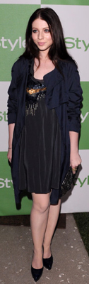 Michelle Trachtenberg Wears Rebecca Taylor to InStyle Party